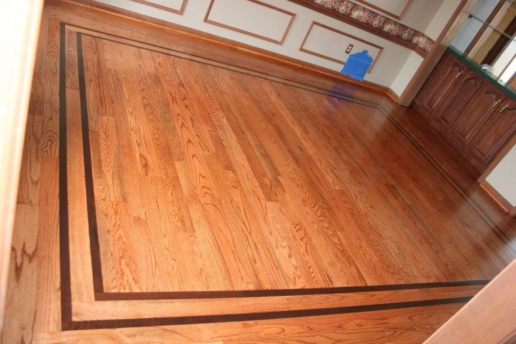 Ziggy 39 s wood floors examples of our work Hardwood floor designs borders