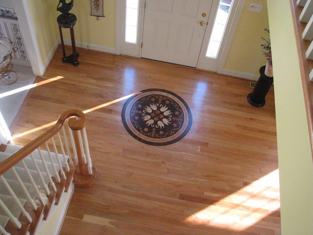 Ziggy 39 s wood floors examples of our work for Wood floor medallions